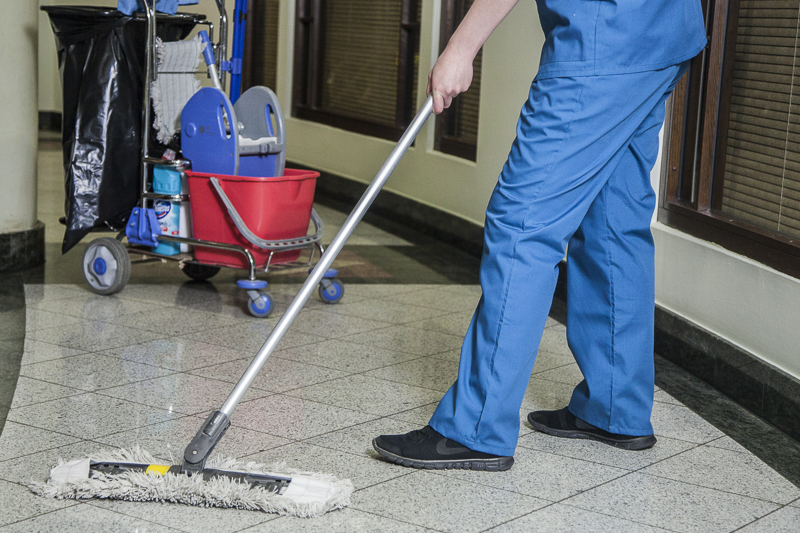 Организация комплексной уборки территории и помещений от ...