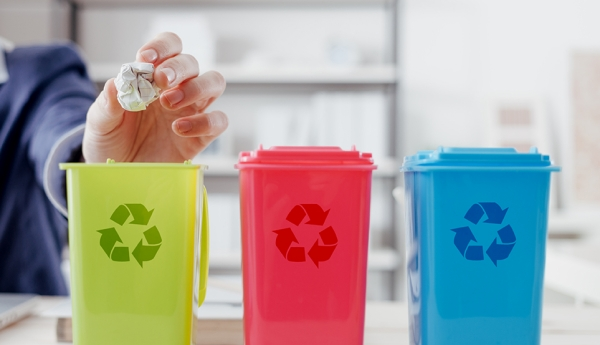 переработка мусора и уборка